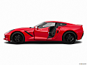 2019 Chevrolet Corvette Stingray 1LT, driver's side profile with drivers side door open.
