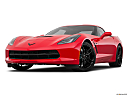 2019 Chevrolet Corvette Stingray 1LT, front angle view, low wide perspective.