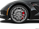 2019 Chevrolet Corvette Z06 3LZ, front drivers side wheel at profile.