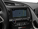 2019 Chevrolet Corvette Z06 3LZ, driver position view of navigation system.
