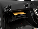2019 Chevrolet Corvette Z06 3LZ, glove box open.