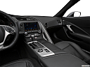 2019 Chevrolet Corvette Z06 3LZ, center console/passenger side.