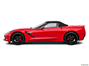 2019 Chevrolet Corvette Stingray 3LT, drivers side profile, convertible top up (convertibles only).