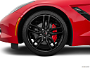 2019 Chevrolet Corvette Stingray 3LT, front drivers side wheel at profile.
