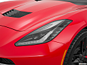 2019 Chevrolet Corvette Stingray 3LT, drivers side headlight.