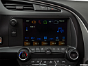 2019 Chevrolet Corvette Stingray 3LT, closeup of radio head unit