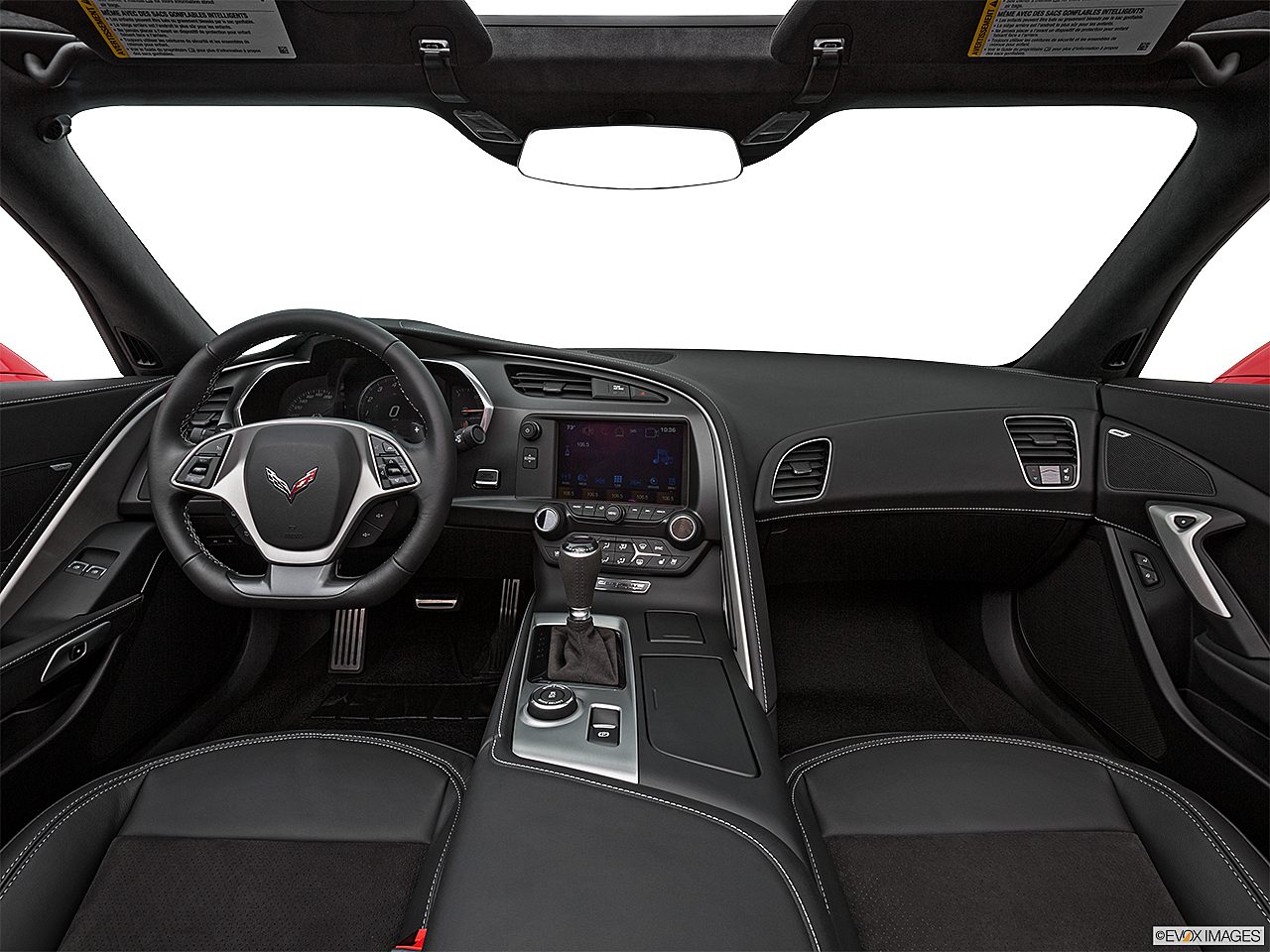 2019 Chevrolet Corvette Stingray 3LT, centered wide dash shot