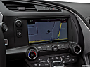 2019 Chevrolet Corvette Stingray 3LT, driver position view of navigation system.