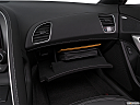 2019 Chevrolet Corvette Stingray 3LT, glove box open.