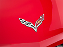 2019 Chevrolet Corvette Stingray 3LT, rear manufacture badge/emblem
