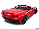 2019 Chevrolet Corvette Stingray 3LT, rear 3/4 angle view.
