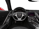 2019 Chevrolet Corvette Stingray 3LT, steering wheel/center console.