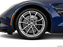 2019 Chevrolet Corvette Grand Sport 3LT, front drivers side wheel at profile.