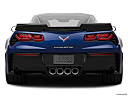 2019 Chevrolet Corvette Grand Sport 3LT, low/wide rear.