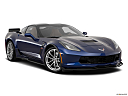 2019 Chevrolet Corvette Grand Sport 3LT, front passenger 3/4 w/ wheels turned.