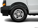 2019 Chevrolet Express 2500 Cargo WT, front drivers side wheel at profile.