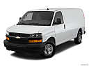 2019 Chevrolet Express 2500 Cargo WT, front angle view.