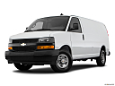 2019 Chevrolet Express 2500 Cargo WT, front angle medium view.