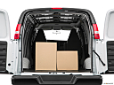 2019 Chevrolet Express 2500 Cargo WT, trunk props.