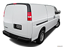 2019 Chevrolet Express 2500 Cargo WT, rear 3/4 angle view.
