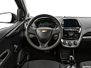 2019 Chevrolet Spark LS Automatic, steering wheel/center console.