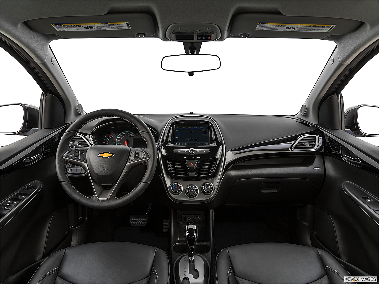2019 Chevrolet Spark 2LT Automatic, centered wide dash shot