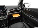 2019 Chevrolet Spark 2LT Automatic, glove box open.