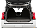 2019 Chevrolet Tahoe LT, trunk open.