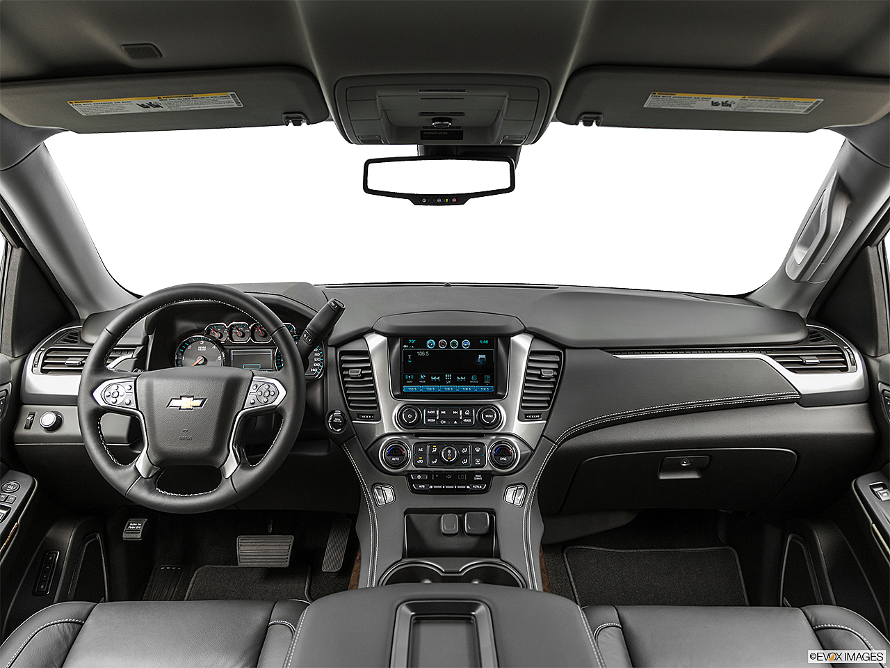 2019 Chevrolet Tahoe LT, centered wide dash shot