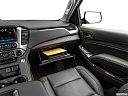 2019 Chevrolet Tahoe LT, glove box open.