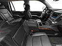 2019 Chevrolet Tahoe LT, fake buck shot - interior from passenger b pillar.