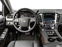 2019 Chevrolet Tahoe LT, steering wheel/center console.