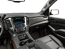 2019 Chevrolet Tahoe LT, center console/passenger side.