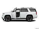 2019 Chevrolet Tahoe Premier, driver's side profile with drivers side door open.