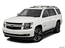 2019 Chevrolet Tahoe Premier, front angle view.