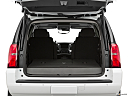 2019 Chevrolet Tahoe Premier, trunk open.