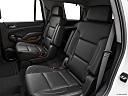 2019 Chevrolet Tahoe Premier, rear seats from drivers side.