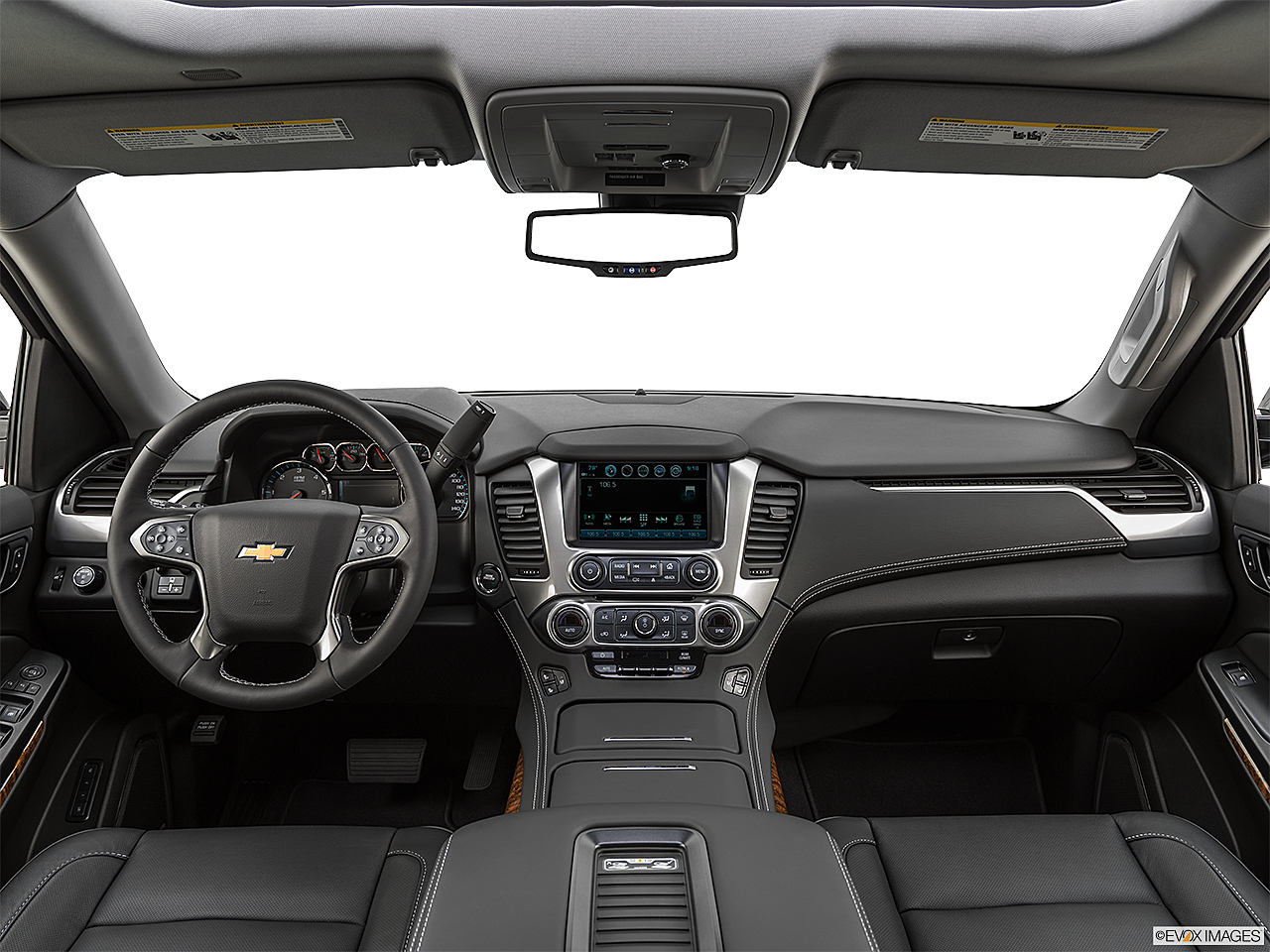 2019 Chevrolet Tahoe Premier, centered wide dash shot