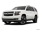 2019 Chevrolet Tahoe Premier, front angle medium view.