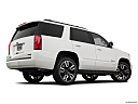 2019 Chevrolet Tahoe Premier, low/wide rear 5/8.