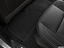 2019 Chevrolet Tahoe Premier, rear driver's side floor mat. mid-seat level from outside looking in.