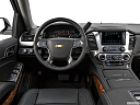 2019 Chevrolet Tahoe Premier, steering wheel/center console.