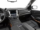 2019 Chevrolet Tahoe Premier, center console/passenger side.