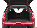 2019 Chevrolet Traverse High Country, trunk open.