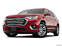 2019 Chevrolet Traverse High Country, front angle view, low wide perspective.