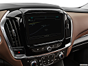2019 Chevrolet Traverse High Country, driver position view of navigation system.