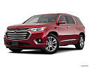 2019 Chevrolet Traverse High Country, front angle medium view.