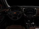 "2019 Chevrolet Traverse High Country, centered wide dash shot - ""night"" shot."
