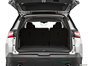 2019 Chevrolet Traverse LS, trunk open.