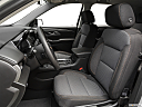 2019 Chevrolet Traverse LS, front seats from drivers side.